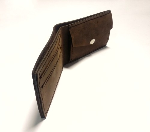 Man leather wallet